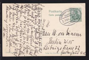 EISENACH-LICHTENFELS BAHNPOST Z. 184 30.5.11 auf CAK (Coburg Total),