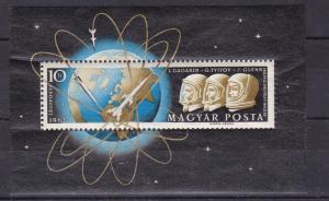 Weltraumflüge von Juri Gagarin, German Titow und John Glenn Block **