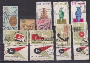 Israel 10 verschiedene Marken (3 Sätze)