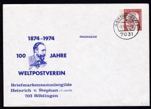 Heinemann 30Pfg. 100 Jahre Weltpostverein