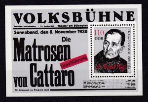 100. Geburtstag von Friedrich Wolf Block **