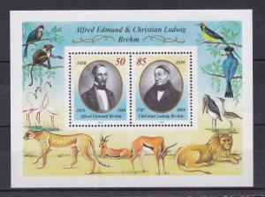 Alfred Edmund und Christian Ludwig Brehm Block **