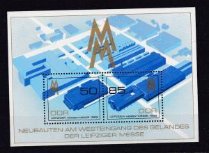 Leipziger Herbstmesse 1989 Block **
