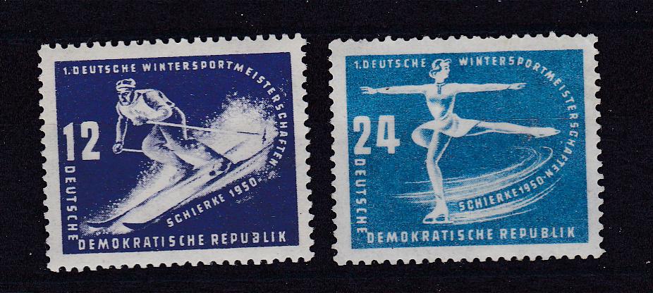 Erste Wintersportmeisterschaften der DDR ** 0