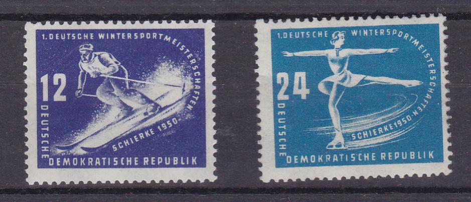 Erste Wintersportmeisterschaften der DDR * 0
