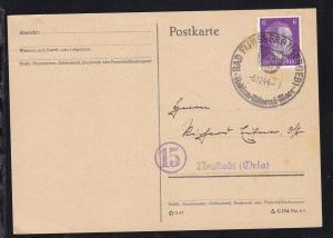 Bad Flinsberg K1 BAD FLINSBERG (ISERGEB) Radium-Mineral-Moor 6.12.44