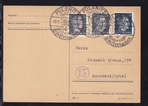 Pulsnitz K1 PULSNITZ (SACHS) Seit 1558 Leb- und Pfefferkuchen 18.11.44