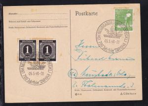Neubrandenburg K1 (3b) NEUBRANDENBURG (MECKL) 700 Jahrfeier 1248-1948 05.5.48