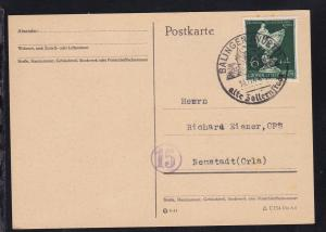 Balingen K1 BALINGEN (WÜRTT) alte Zollernstadt 14.11.44 auf Sammlerpostkarte