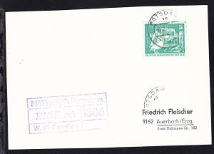 Cachet Weisse Flotte Potsdam MS Ferch auf Postkarte
