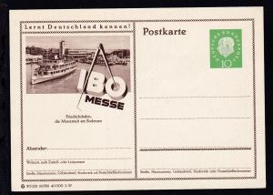 Heuss-Medaillon 10 Pfg. mit Bild Friedrichshafen
