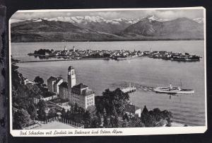 Bad Schachen mit Lindau im Bodensee und Österr. Alpen