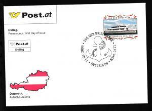 Tag der Briefmarke 2009 auf FDC ohne Anschrift