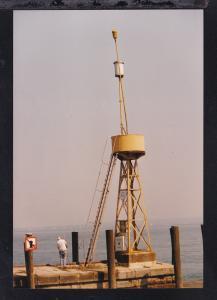 Foto Leuchtfeuer Hafeneinfahrt von Rorschach