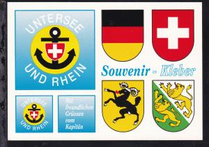 Schweiz Untersee und Rhein Souvenir-Kleber