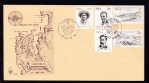 100. Jahrestag der Gründung von Lüderitz auf FDC ohne Anschrift