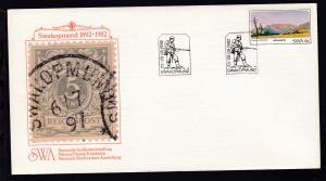 Nationale Briefmarkenausstellung Swakopmund 1982 Sonderumschlag ohne Anschrift