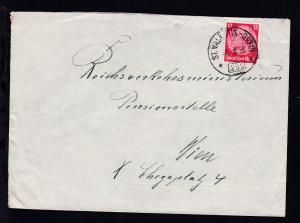 ST VALENTIN-GREIN 235 13.III.39 auf Brief