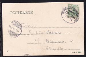 GLAUCHAU-GROSSBOTHEN BAHNPOST ZUG 1465 13.5.04 auf CAK (Blick von der Bastei des