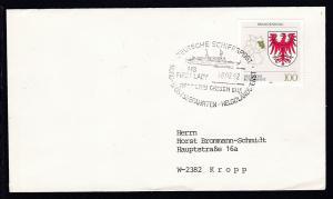 DEUTSCHE SCHIFFSPOST MS FIRST LADY REEDEREI CASSEN EILS NORD- U. OSTSEEFAHRTEN-