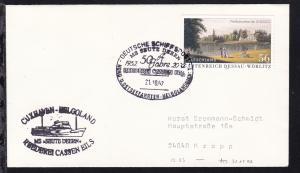 DEUTSCHE SCHIFFSPOST MS SEUTE DEERN 1952 2002 50 Jahre REEDEREI CASSEN EILS