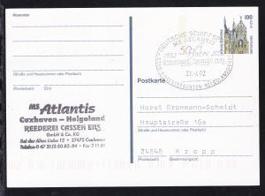 DEUTSCHE SCHIFFSPOST MS ATLANTIS 1952 2002 50 Jahre REEDEREI CASSEN EILS