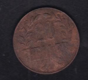 Deutsch-Ostafrika 20 Heller Kupfer Tabora 1916, S