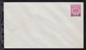 Adler 10 Pfg. mit Aufdruck 20 PARA 20