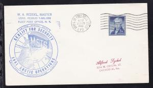 USA Maschinenstempel ARMY & AIR FORCE POSTAL SERVICE APO 677 JUN 29 1961 +