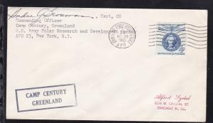 USA Maschinenstempel ARMY & AIR FORCE POSTAL SERVICE APO 23 NOV 28 1960 +