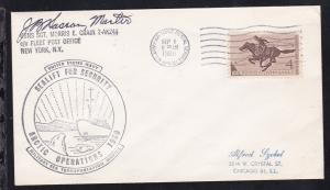 USA Maschinenstempel U.S. ARMY-AIR FORCE POSTAL SERVICE APO 121 SEO 1 1960 +