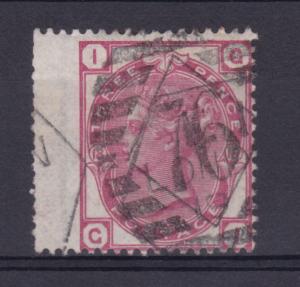 Königin Viktoria 3 P. Platte 18 breite Marke