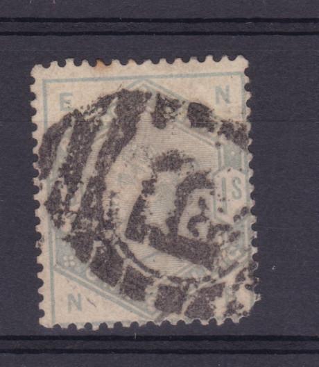 Königin Viktoria 1 Sh., fehlender Eckzahn 0