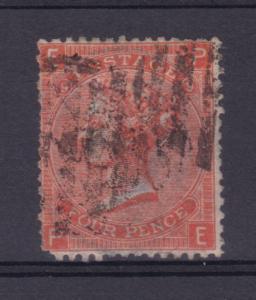 Königin Viktoria 4 P. Platte 9, Zahnfehler