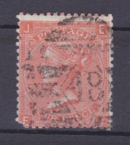 Königin Viktoria 4 P. Platte 10, Zahnfehler