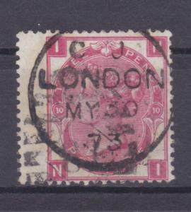 Königin Viktoria 3 P. Platte 10 breite Marke