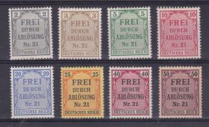 Zähldienstmarken für Preussen, *