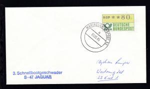 MARINESCHIFFSPOST 52 a 03.05.85 + L2 3. Schnellbootgeschwader S-47 JAGUAR