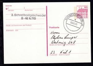 MARINESCHIFFSPOST 52 a 03.05.85 + L2 3. Schnellbootgeschwader S-42 ILTIS