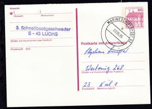 MARINESCHIFFSPOST 52 a 03.05.85 + L2 3. Schnellbootgeschwader S-43 LUCHS