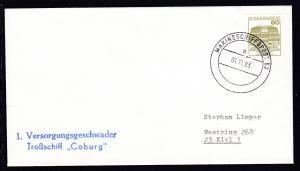 MARINESCHIFFSPOST 52 a 01.11.83 + L2 1. Versorgungsgeschwader Troßschiff