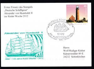 DEUTSCHE SCHIFFSPOST Bark ALEXANDER VON HUMBOLDT II DSST-Deutsche Stiftung