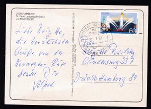 DEUTSCHE SCHIFFSPOST ms Europa Hapag-Lloyd SPITZBERGEN-KREUZFAHRT 27.7.89