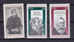 150. Geburtstag von Friedrich Engels, **