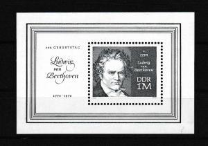200. Geburtstag von Ludwig van Beethoven, Block **