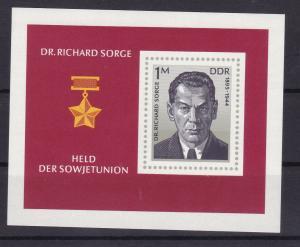 Dr. Richard Sorge, Block **