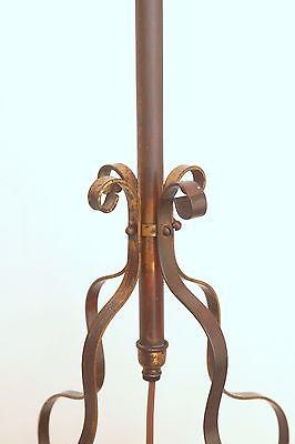 Wunderschöne original Jugendstil Deckenleuchte Flurlampe Bleiverglasung 1900 4