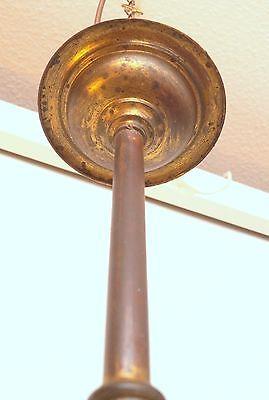 Wunderschöne original Jugendstil Deckenleuchte Flurlampe Bleiverglasung 1900 9