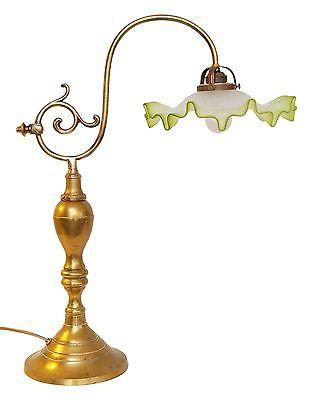 Einzigartige original Jugendstil Bibliotheken Leselampe Tischlampe 1920