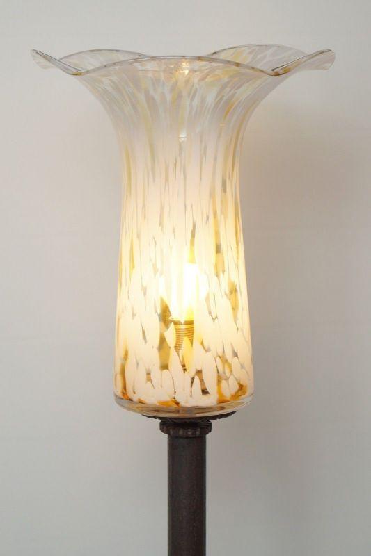 Einzigartiges Lichtobjekt Deckenfluter Stehlampe
